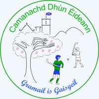 Camanachd Dhun Eideann badge - colour for website homepage